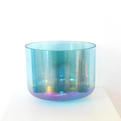 AQUA AURA GOLD  :  campana sonora di cristallo