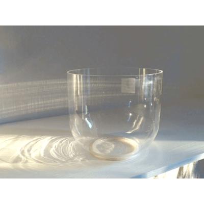 CRYSTAL CLEAR  :  campana sonora di cristallo