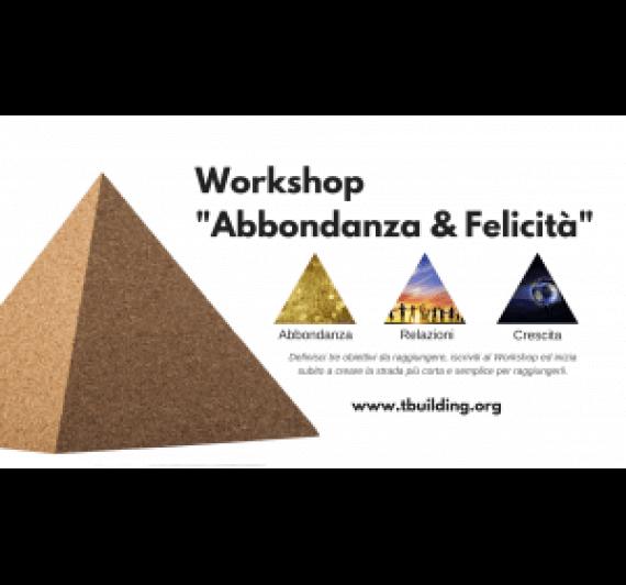 """Workshop """"Abbondanza & Felicità"""""""
