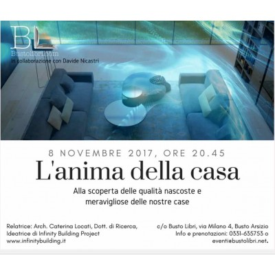 """""""L'anima della casa"""", conferenza di Caterina Locati a Busto Arsizio"""